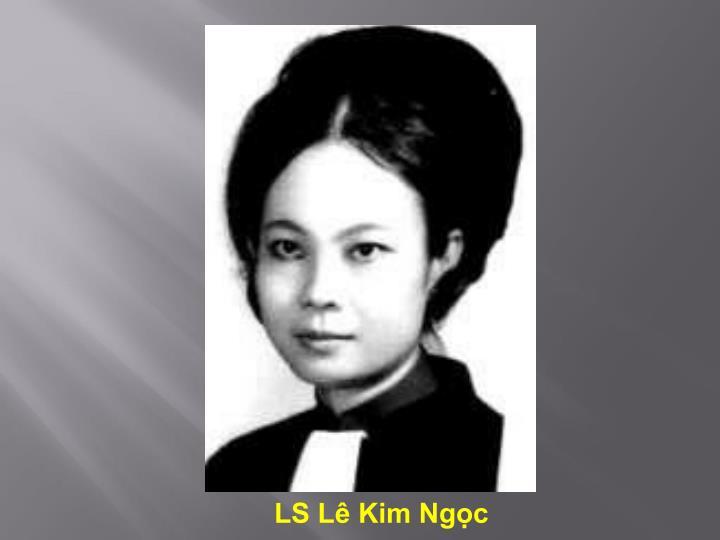 LS Lê Kim Ngọc