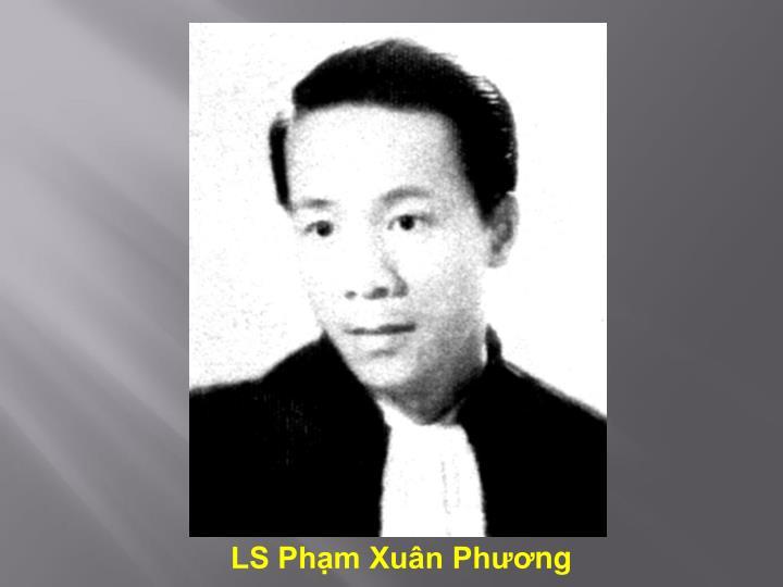 LS Phạm Xuân Ph