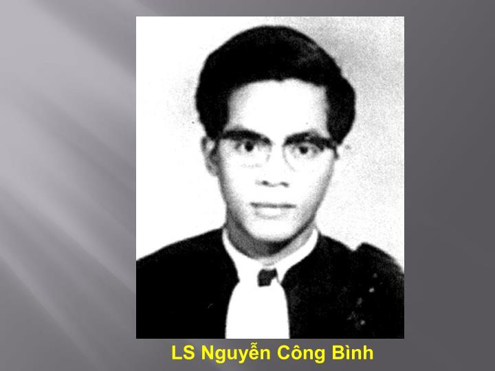 LS Nguyễn Công Bình