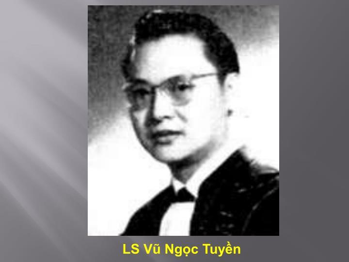 LS Vũ Ngọc Tuyền