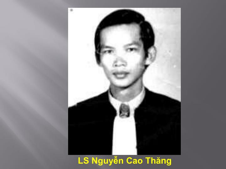 LS Nguyễn Cao Th