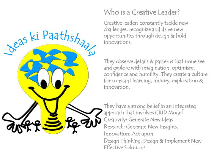 Who is a Creative Leader?