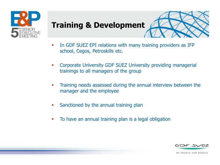 Training &