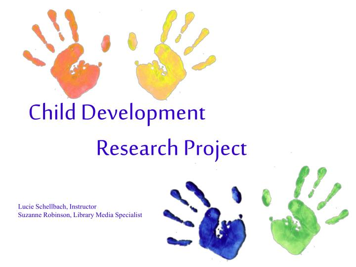 Research article on child development