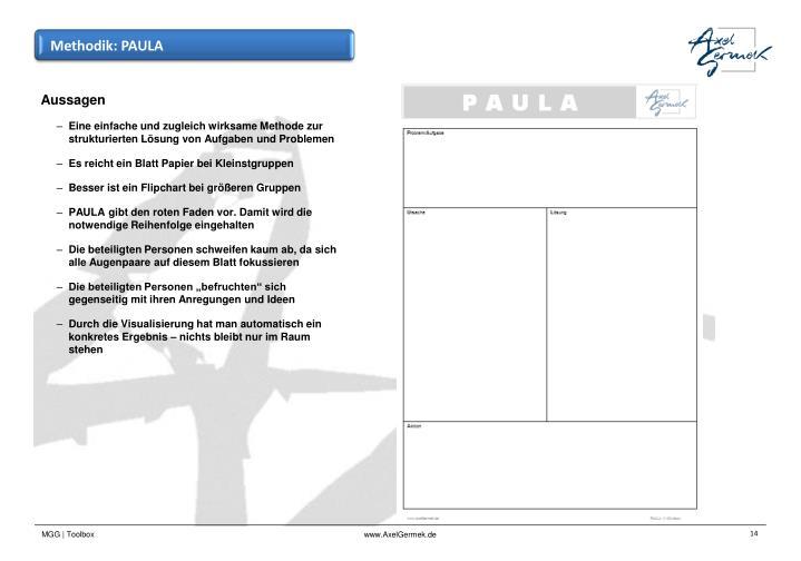Methodik: PAULA