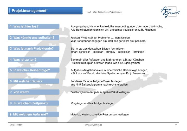 Projektmanagement*