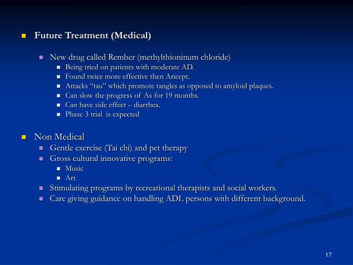 Future Treatment (Medical)