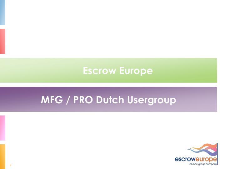Escrow Europe