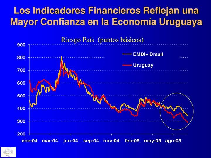 Los Indicadores Financieros Reflejan una Mayor Confianza en la Economía Uruguaya