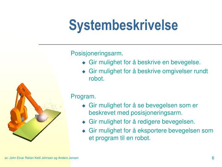 Systembeskrivelse