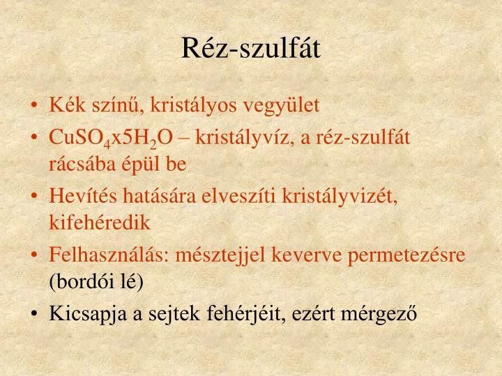 Réz-szulfát