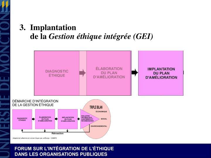 3.Implantation