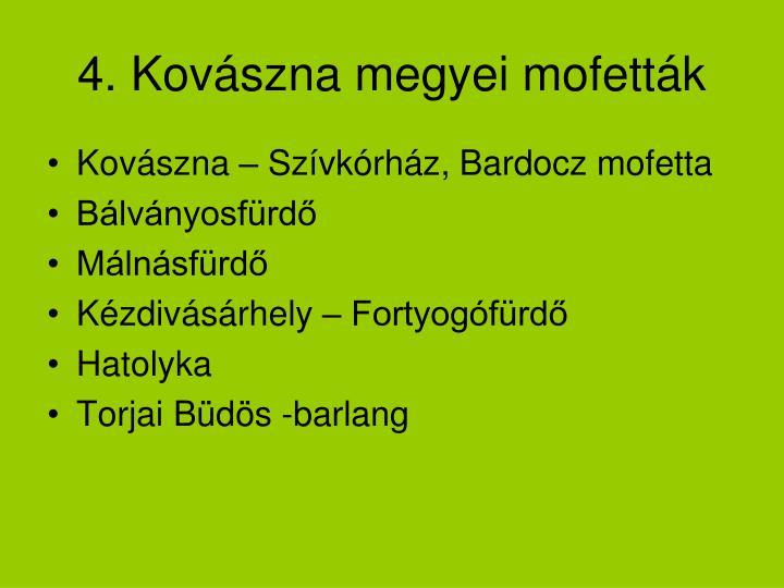 4. Kovászna megyei mofetták