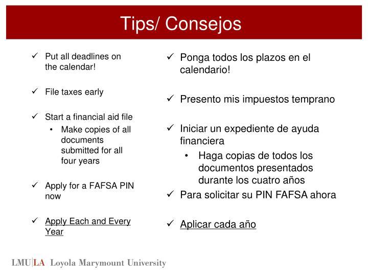 Tips/
