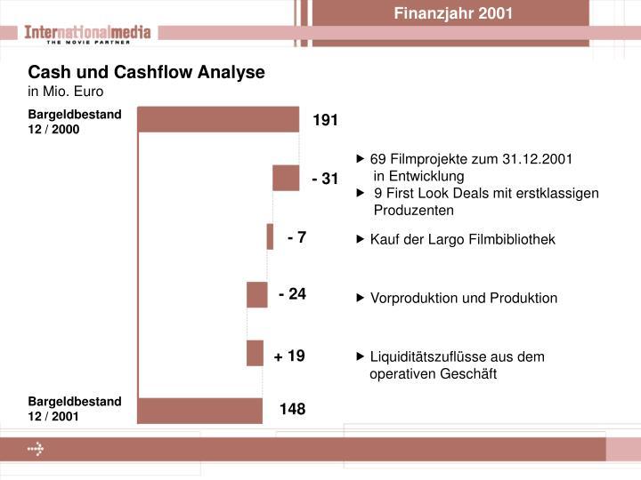 Finanzjahr 2001