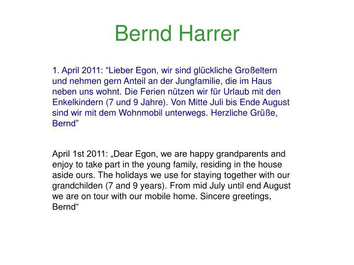 Bernd Harrer