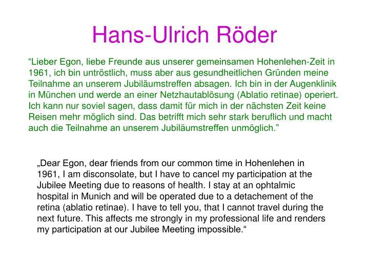 Hans-Ulrich Röder