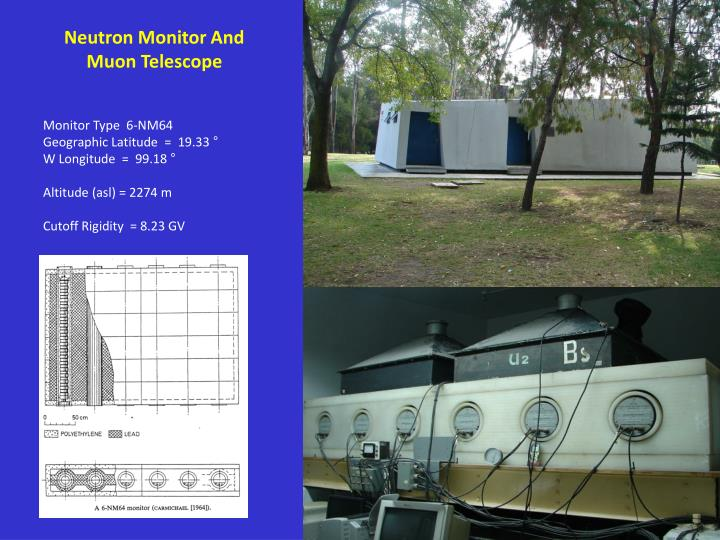 Neutron Monitor And Muon Telescope