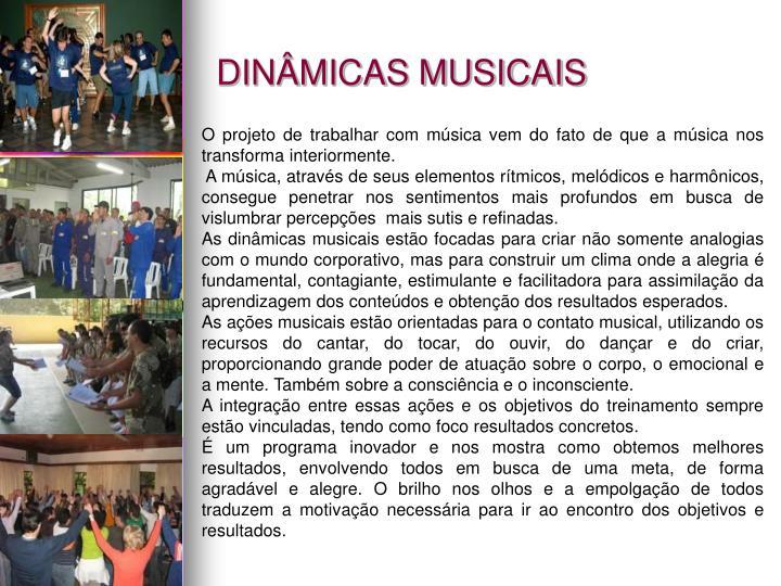 DINÂMICAS MUSICAIS