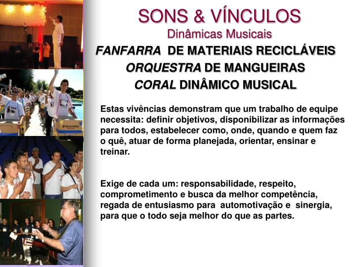 SONS & VÍNCULOS