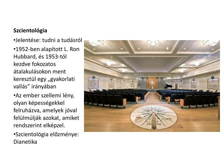 Szcientológia