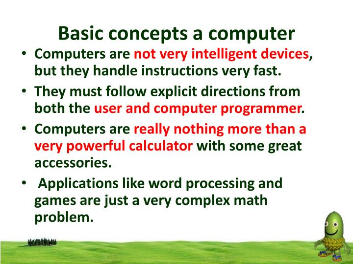 Basic concepts a computer1