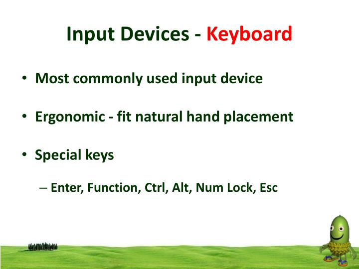 Input Devices -
