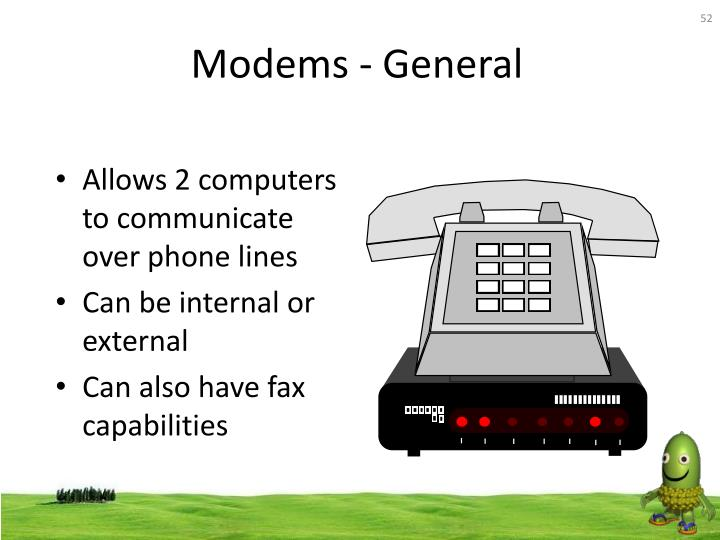 Modems - General