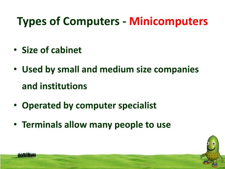 Types of Computers -