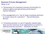 business process management what is it