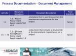 process documentation document management