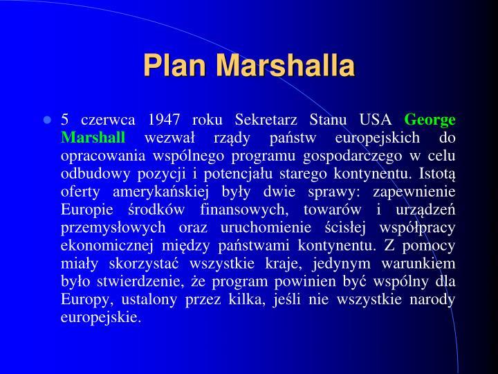 Plan Marshal