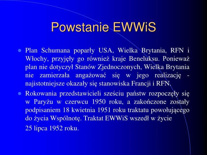 Powstanie EWWiS