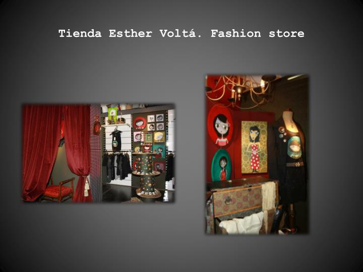 Tienda Esther