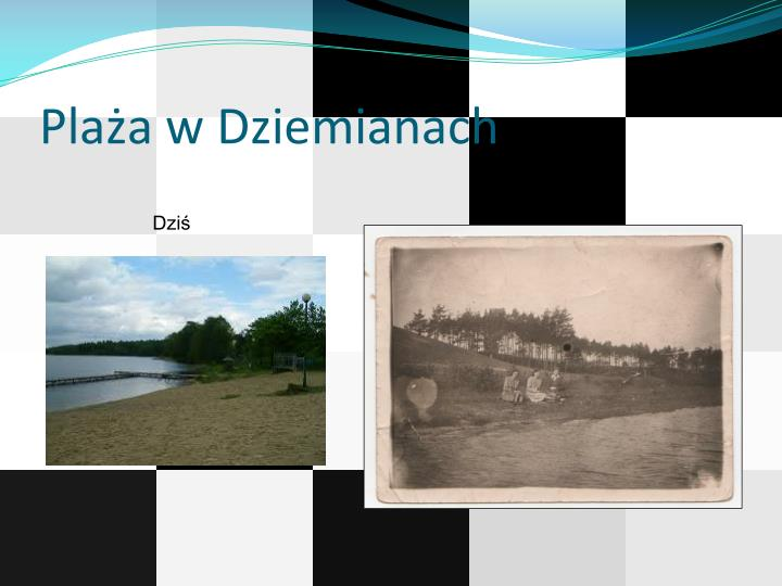 Plaża w Dziemianach