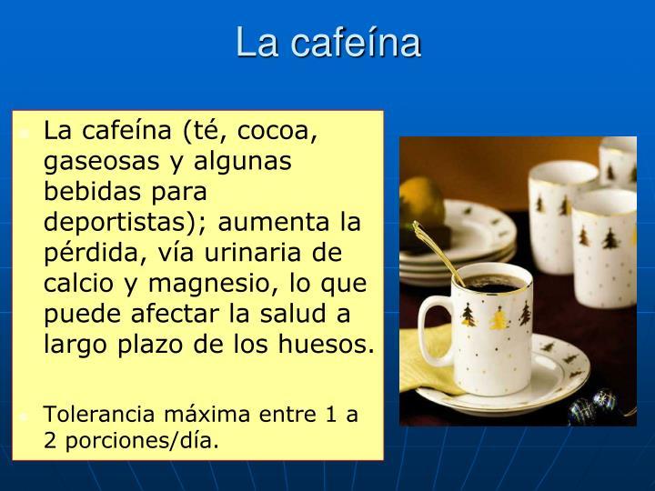La cafeína