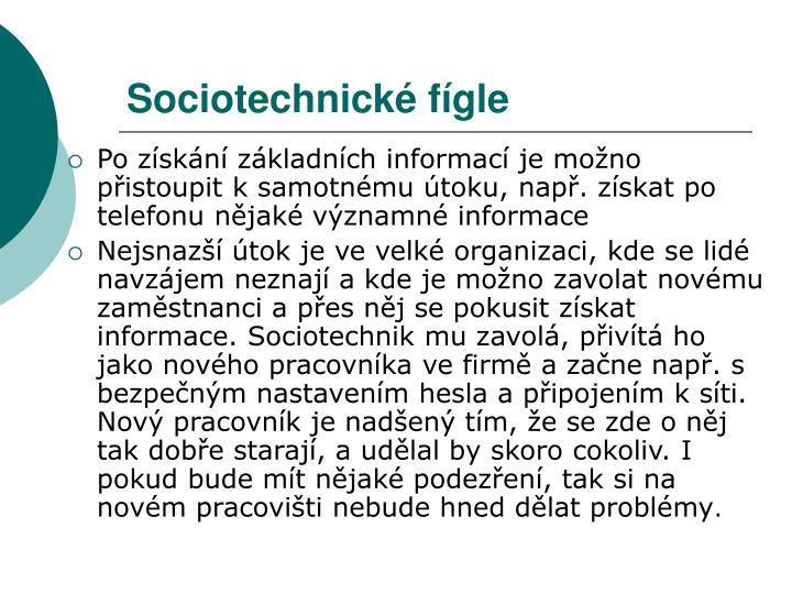 Sociotechnické fígle