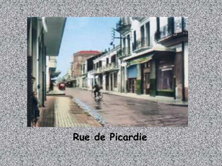 Rue de Picardie