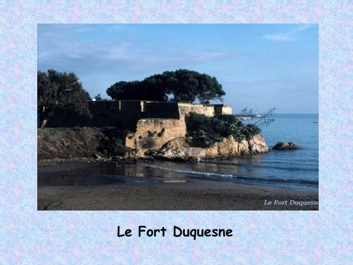 Le Fort Duquesne