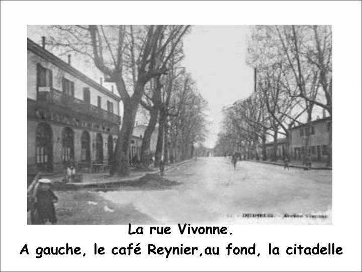 La rue Vivonne.