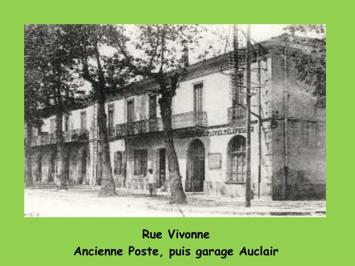 Rue Vivonne