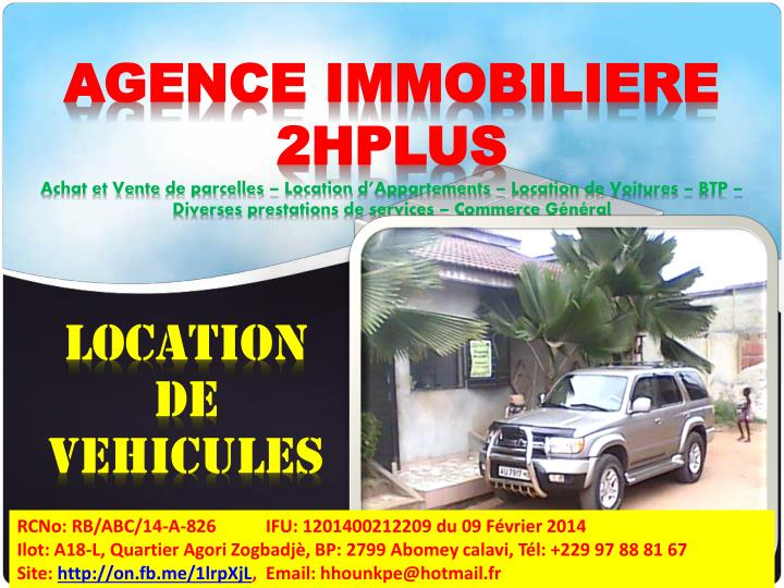 AGENCE IMMOBILIERE 2HPLUS