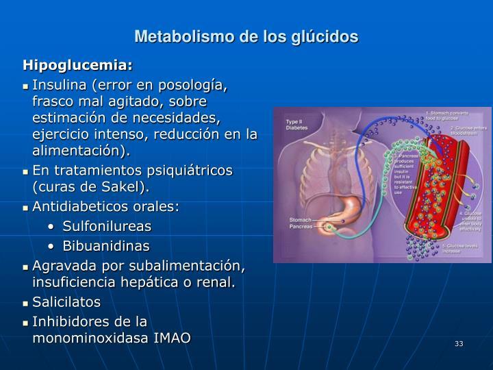 Metabolismo de los glúcidos