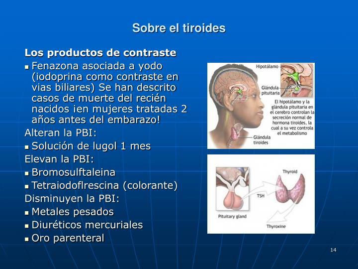 Sobre el tiroides