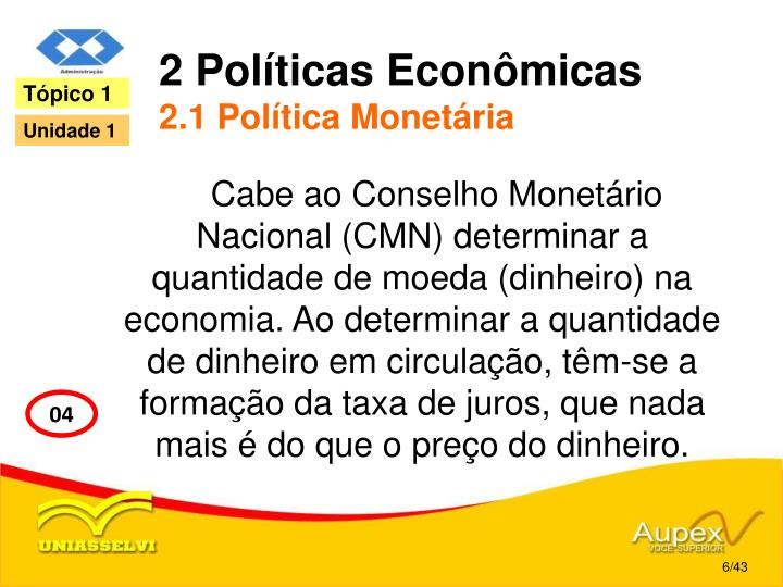 2 Políticas Econômicas