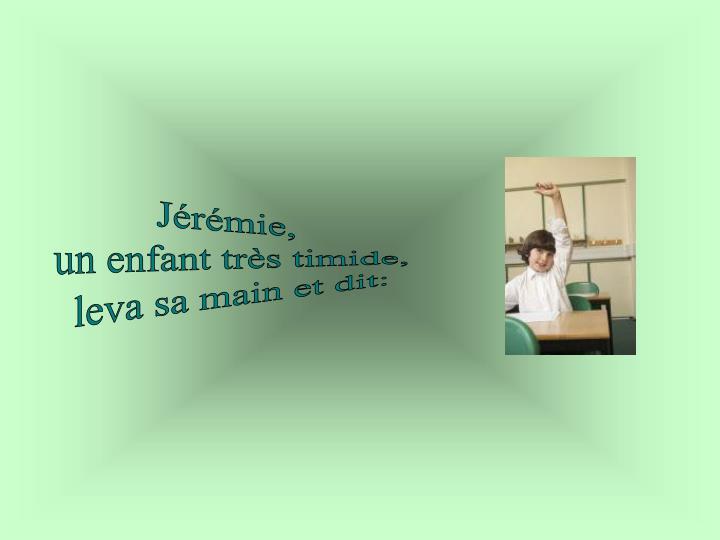 Jérémie,