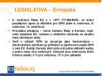 legislativa evropsk