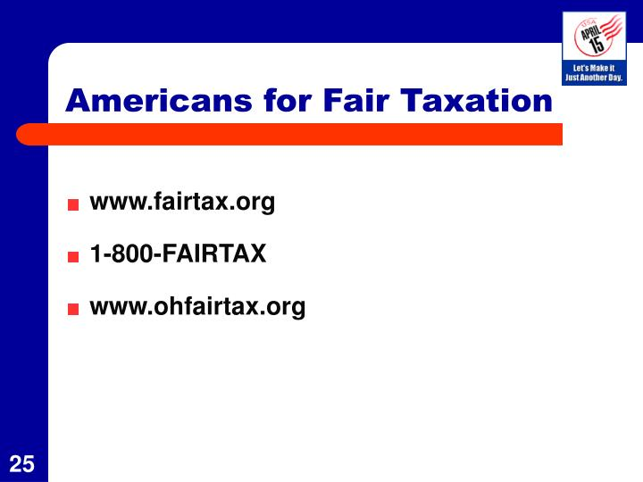 Americans for Fair Taxation