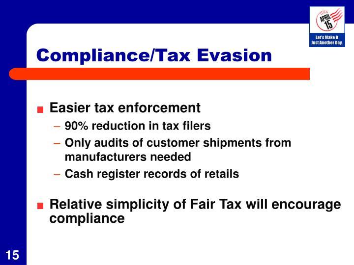 Compliance/Tax Evasion