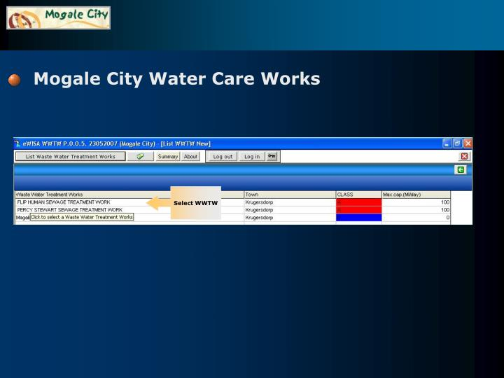 Mogale City Water Care Works